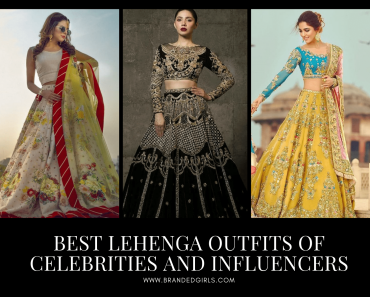 Lehenga Outfits Of Pakistani Celebrities And Influencers