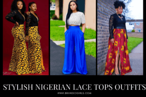 How to Wear Nigerian Lace Tops Stylish Nigerian Lace Tops