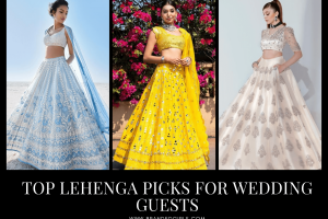 Best Lehenga Outfits for Wedding Guests Top 25 Picks