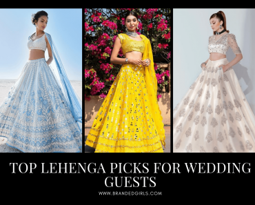 Best Lehenga Outfits For Wedding Guests