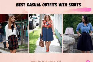 15 Casual Outfits With Skirts – How to Wear Skirts Casually?