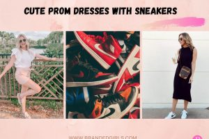 16 Cute Prom Dresses With Sneakers to Wear in 2021
