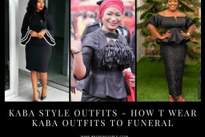 10 Kaba Outfits for Funerals 2021 Kaba Styles For Funerals
