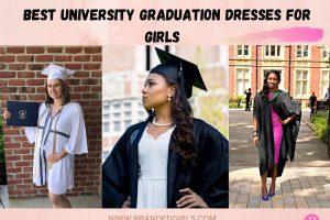 13 Best University Graduation Dresses for Girls in 2021