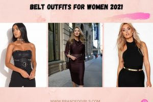 Belt Outfits For Women – How To Wear Belts In 2021