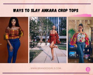 Crop Top Ankara Outfits – 20 Ways To Wear Crop Ankara Tops