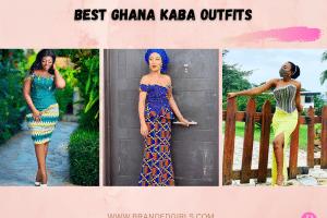 18 Best Ghana Kaba Outfits 2021Ideas To Wear Ghana Kaba