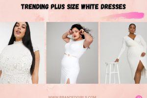 20 White Dresses For Plus Size Women Trending In 2021