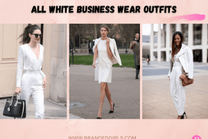 All White Business Wear Outfits20 Best White Formal Outfits