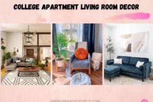 15 Cutest Girls College Apartment Living Room Decor Ideas