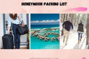 Honeymoon Packing List 15 Honeymoon Essentials in 2021
