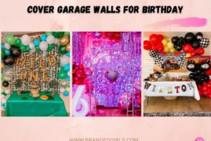 15 Amazing Ways On How To Cover Garage Walls For Birthday