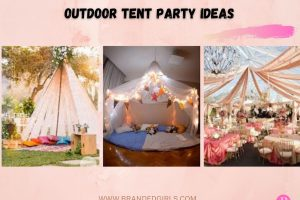 Best Outdoor Tent Party Ideas 15 Outdoor Tent Party Themes