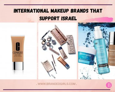 19 International Makeup Brands that Support Israel in 2021