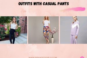 Outfits With Casual Pants- 20 Ideas To Wear Casual Pants For Women