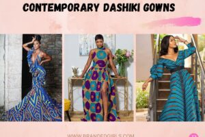 20 Stylish Dashiki Gown Styles For Ladies To Wear In 2021
