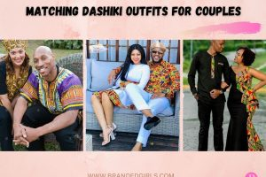 20 Cute Matching Dashiki Outfits for Couples to Wear in 2021